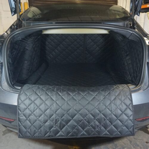 Tesla Model 3 2019 – Present – Fully Tailored Quilted Boot Liner Category Image