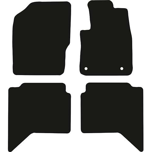 Toyota Hilux Twin Cab Automatic 2017 – 2020 – Car Mats Category Image
